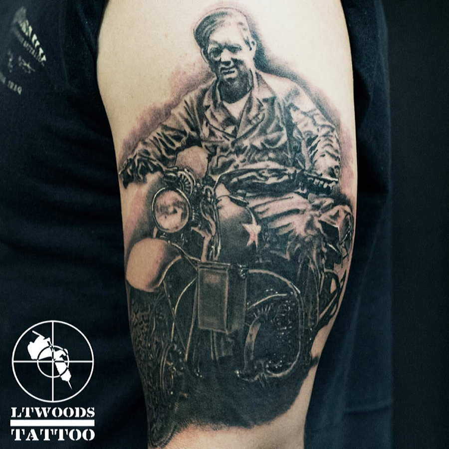 LT Woods - New School Tattoo Artist, St. Louis MO | LTWOODSART.COM